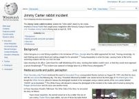 Jimmy Carter rabbit incident