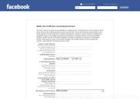 Report a Deceased Person's Profile | Facebook