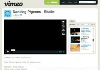 Dancing Pigeons - Ritalin on Vimeo