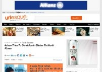 4chan Tries To Send Justin Bieber To North Korea