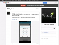 Waza_Be - Google  - If you have updated to Android 4.2, I hope you don't plan…