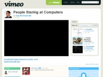 People Staring at Computers