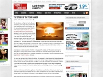 The Story of the Tsar Bomba