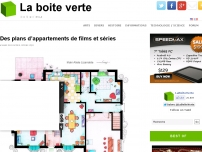 Des plans d'appartements de films et séries