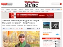 'Song of the Lonely Mountain' Song Premiere