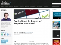 Fonts Used In Logos of Popular Websites