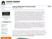 Paying Down Your Technical Debt