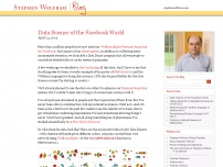 Data Science of the Facebook World