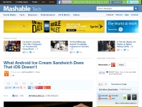 What Android Ice Cream Sandwich Does That iOS Doesn't
