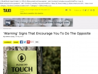 Warning Signs That Encourage You To Do The Opposite