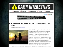 In Soviet Russia, Lake Contaminates You