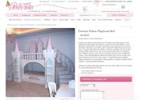Princess Palace Playhouse Bed