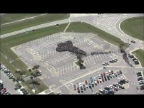 Kennedy Space Center Employees Assemble for Historic Photo