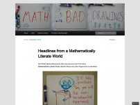 Headlines from a Mathematically Literate World