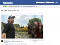 Production video for the Hobbit