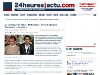 Le courage de Jamel Debbouze