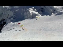 Speed Flying from the Mont Blanc