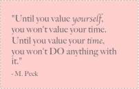 Value yourself
