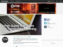 Mac 'secret Bitcoin mining feature'
