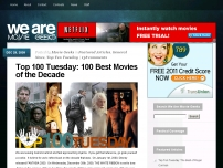 100 Best Movies of the Decade