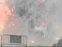 NYPD Fireworks Destruction July 2011